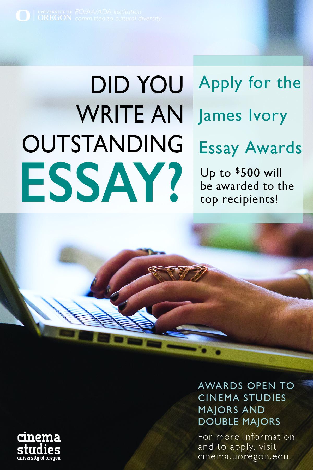 James Ivory Essay Awards