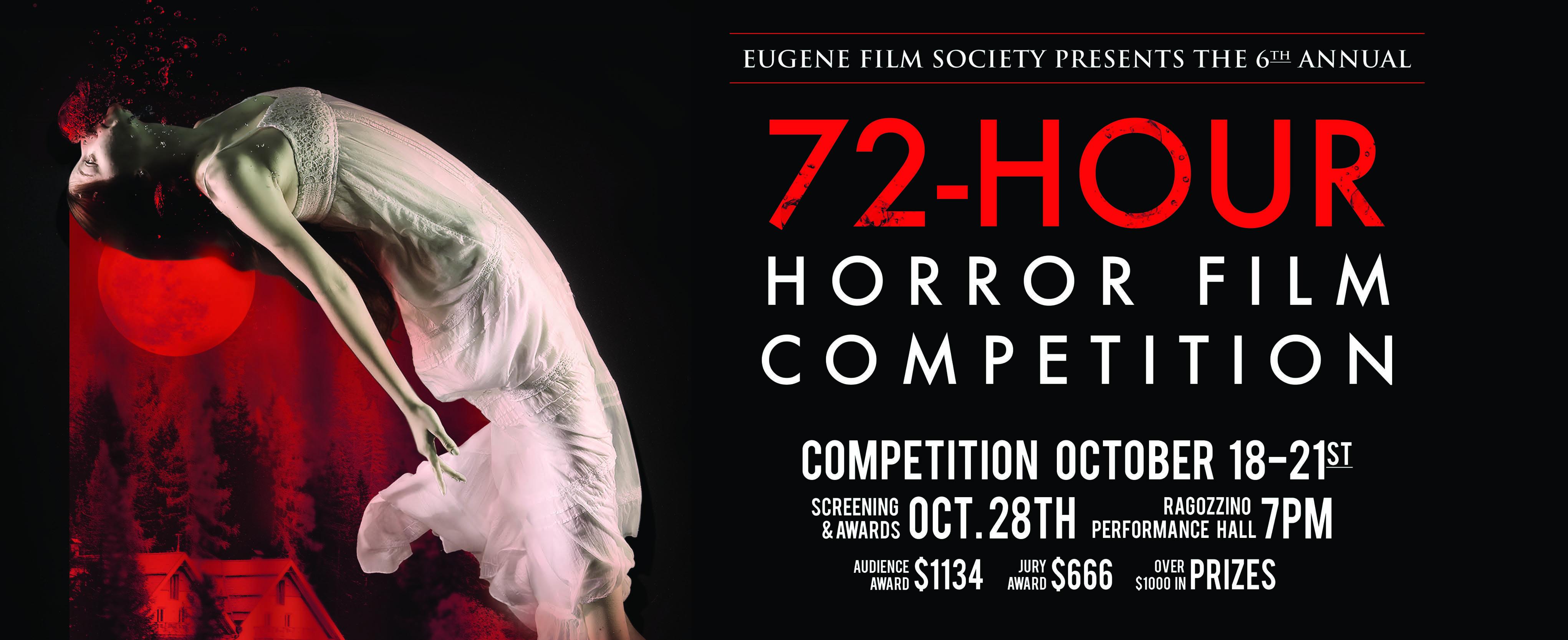 Eugene Film Society 72-Hour Horror Competition