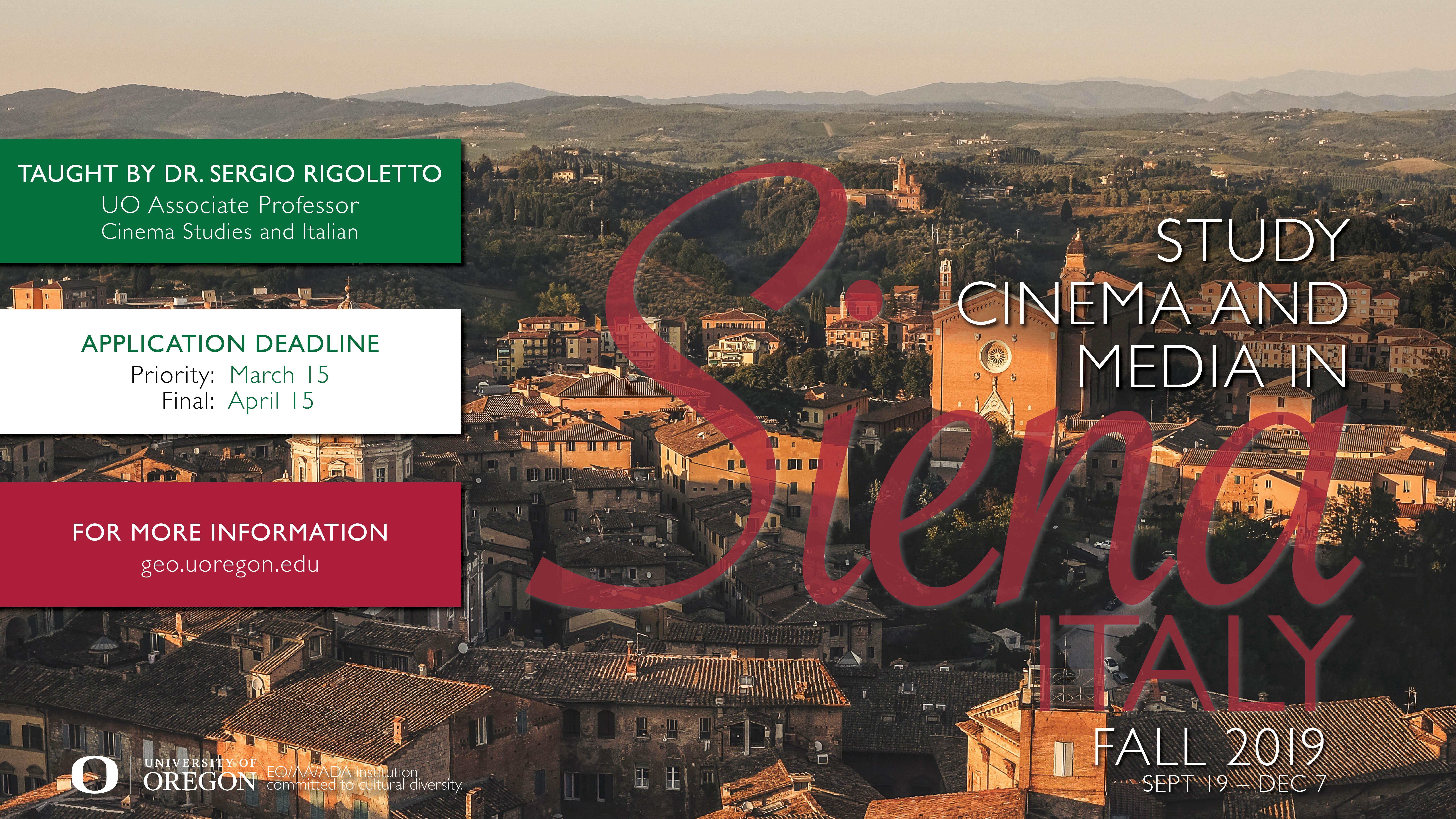 Siena Study Abroad
