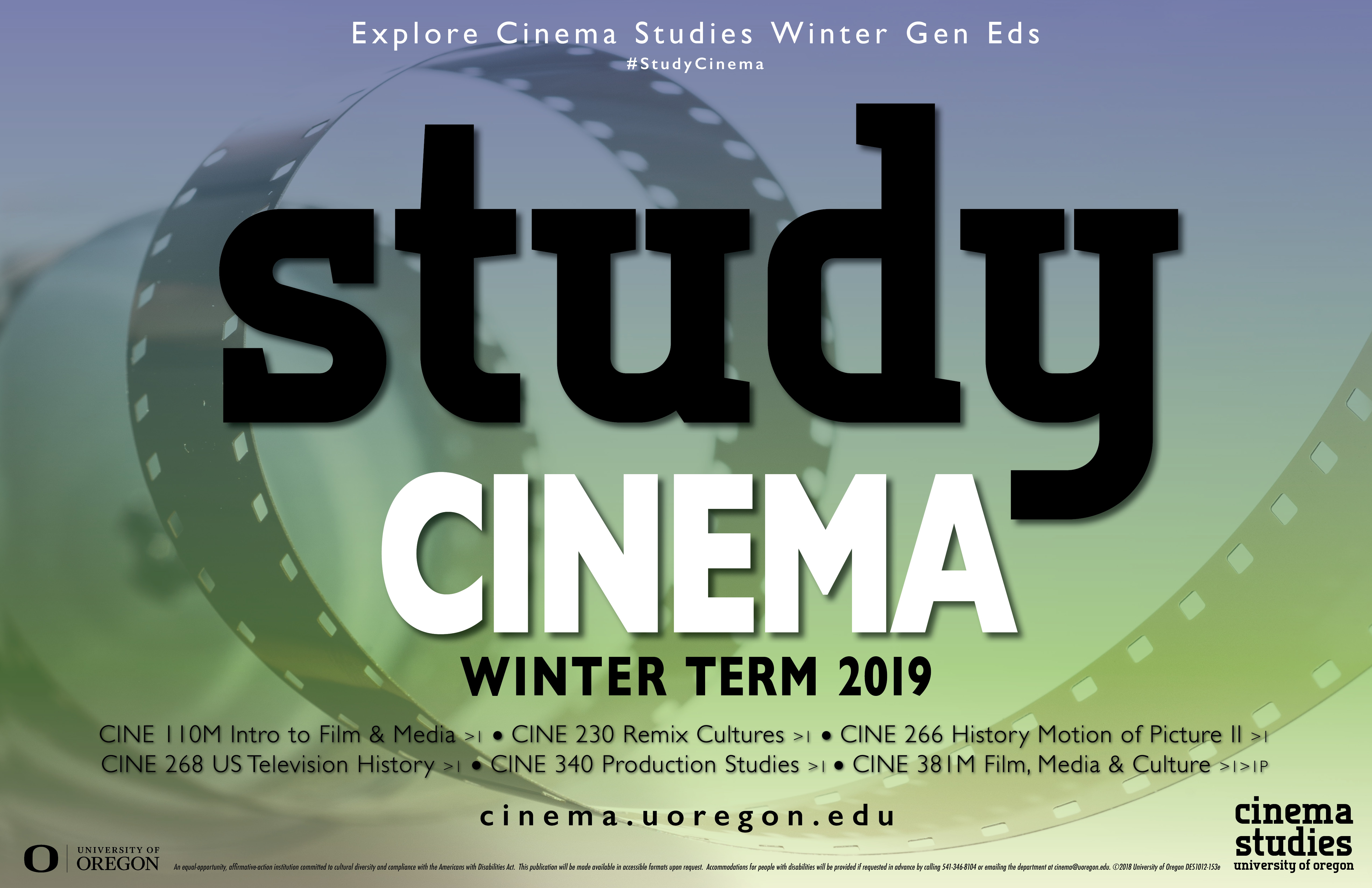 Winter Term 2019 Course Poster