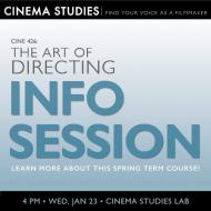 Art of Directing Info Session