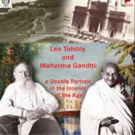 Poster for screening of Leo Tolstoy and Mahatma Gandhi: A Double Portrait in the Interior of the Age