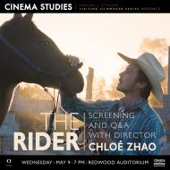 """Poster for Screening of """"The Rider"""" and Q&A with Director Chloé Zhao"""
