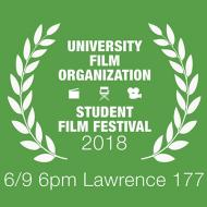 University Film Organization Student Film Festival Poster
