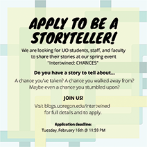 Apply to be a storyteller