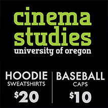 Poster for Cinema Studies Hoodies and Baseball Cap Sale