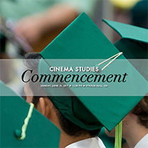 Promotional poster for commencement