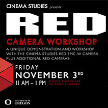 RED Camera Workshop Poster