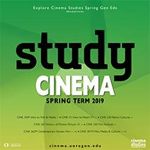 Study Cinema Spring 2019