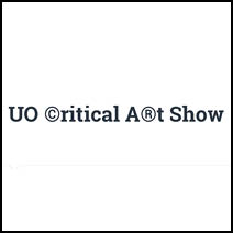 Poster for Call For Entries for the UO ©ritical A®t Show