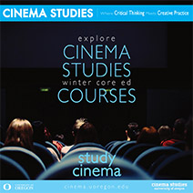 Cinema Studies Winter Term Courses
