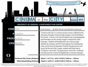 Cinema in the City Flyer