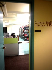 Cinema Studies Equipment Room