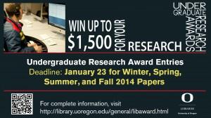 Undergraduate Research Award