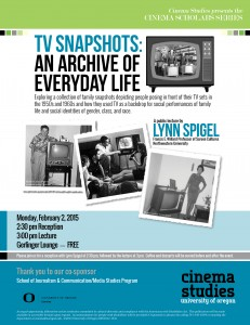 Cinema Scholars Series Presents Lynn Spigel