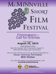 McMinnvile Short Film Festival