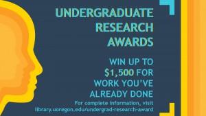 Undergraduate Research Awards