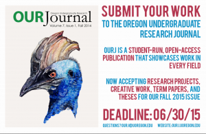 Oregon Research Journal