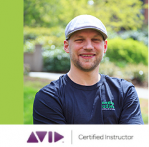 Photo of André Sirois, Multimedia Supervisor and Avid Certified Instructor