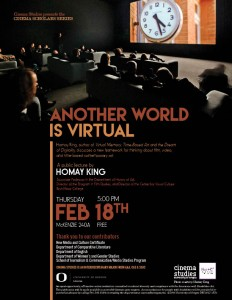 Cinema Scholars Series Poster_Homay King