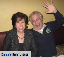 Harlan and Rima Strauss