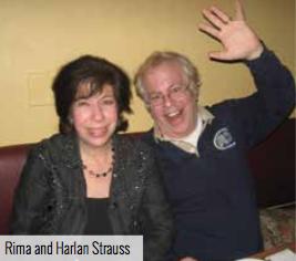 Harlan and Rima Strauss
