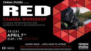 Red Camera Workshop Promotional Poster